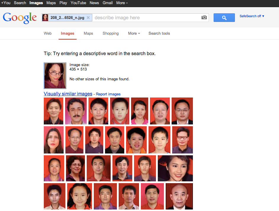 Image search like on catfish