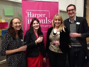Katie, Kim, Charlotte and Richard... the lovely team!