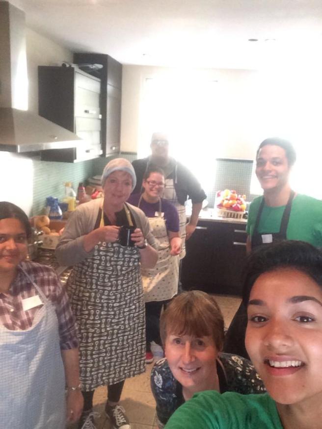 Kitchen selfie!