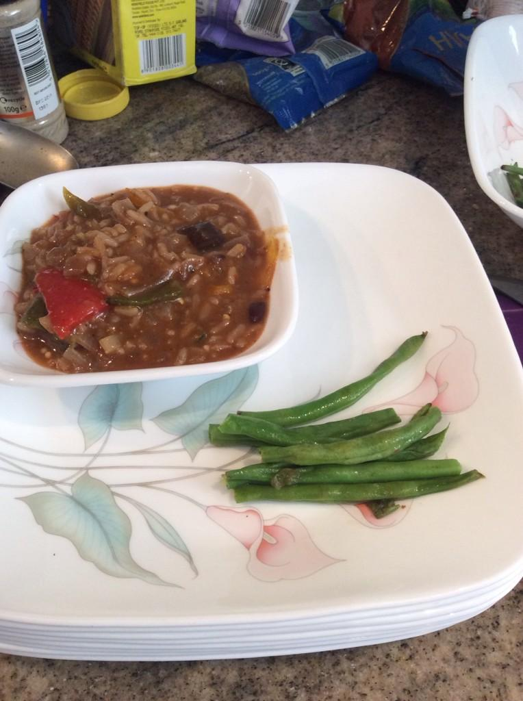 Managed to get a photo of the gumbo but food was going so fast we didn't get photos of the other dishes!