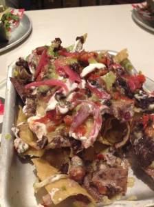DF/Mexico Gluten free veggie nachos