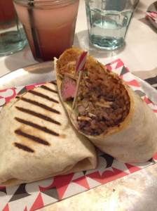 DF/Mexico Steak Burrito