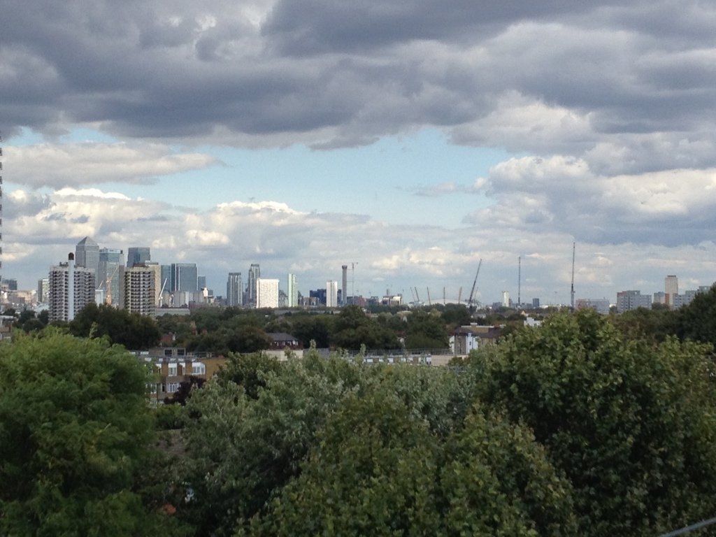 Canary Wharf and the 02